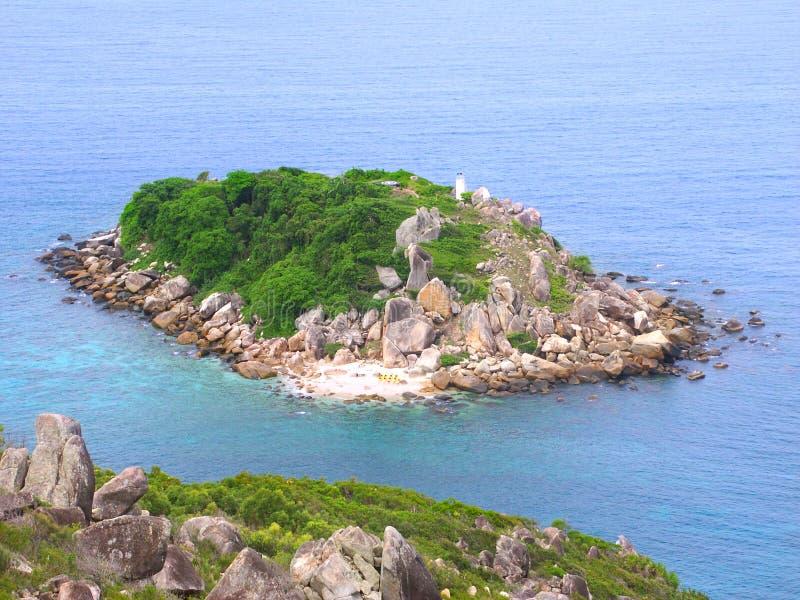 Peu d'île de Fitzroy - Australie photographie stock libre de droits
