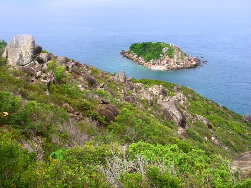 Peu d'île de Fitzroy - Australie photographie stock