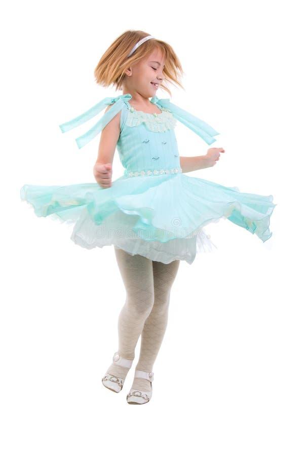 Peu de fille de danse. photo libre de droits