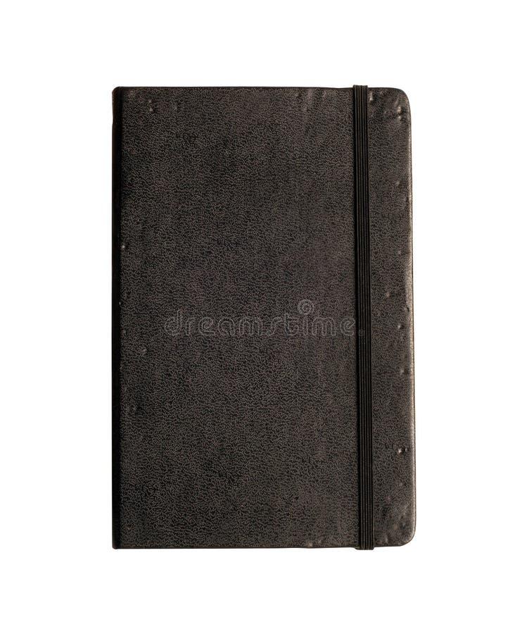Peu de livre noir avec le chemin images libres de droits
