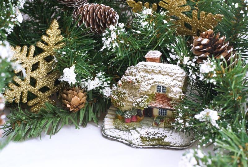 Peu de Noël personnel images libres de droits