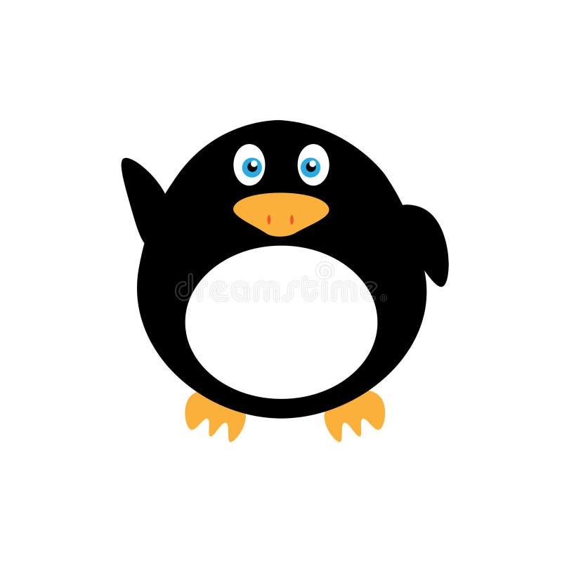 Peu de pingouin de bande dessinée photo libre de droits