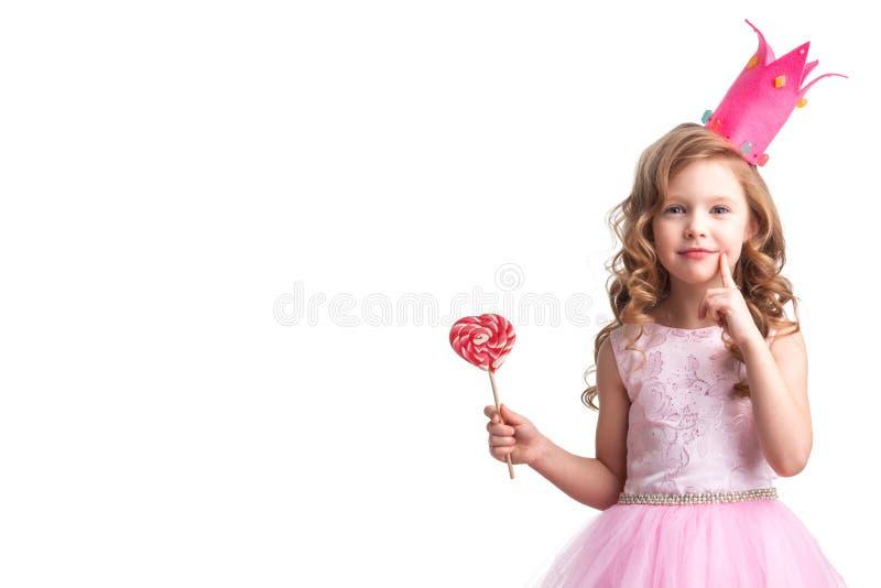 Peu de princesse de sucrerie images libres de droits