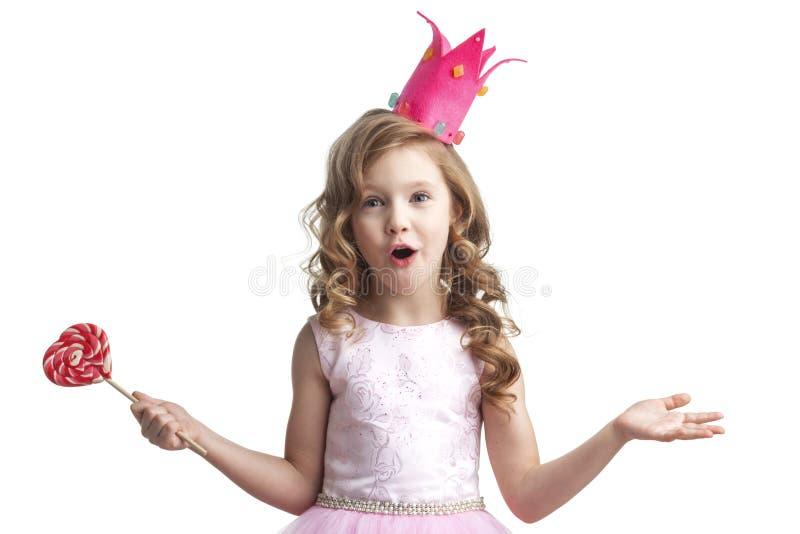 Peu de princesse de sucrerie images stock