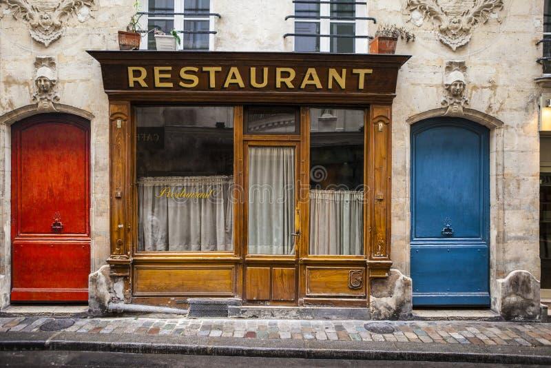 Peu de restaurant images libres de droits