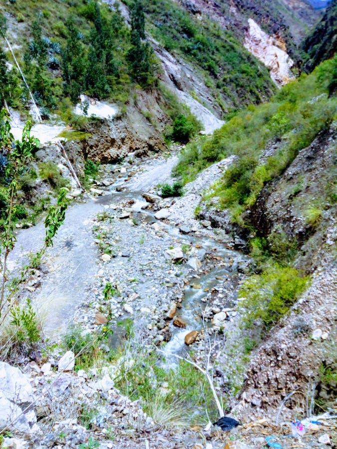 Peu de rivière photo stock