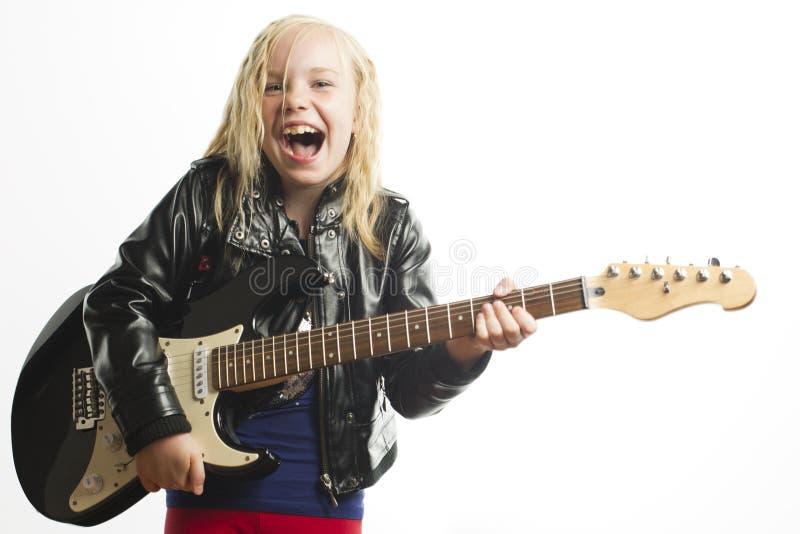 Peu de vedette du rock photo stock