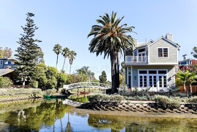 Peu de Venise, Los Angeles, CA 27 août 2012 image libre de droits