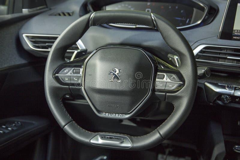 Peugeot 3008 imagens de stock royalty free