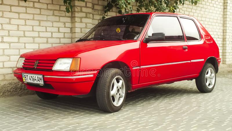Peugeot 205 fotos de archivo