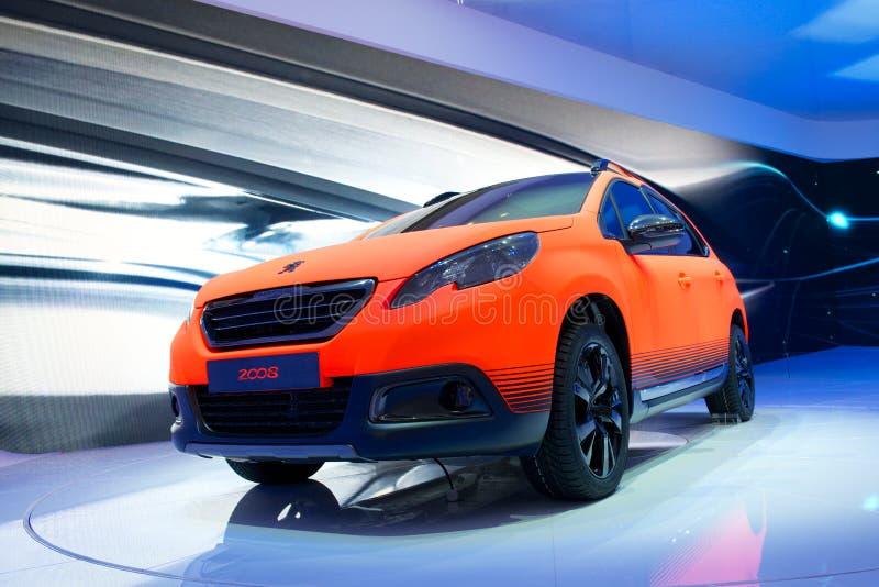 Peugeot 2008 fotografía de archivo libre de regalías
