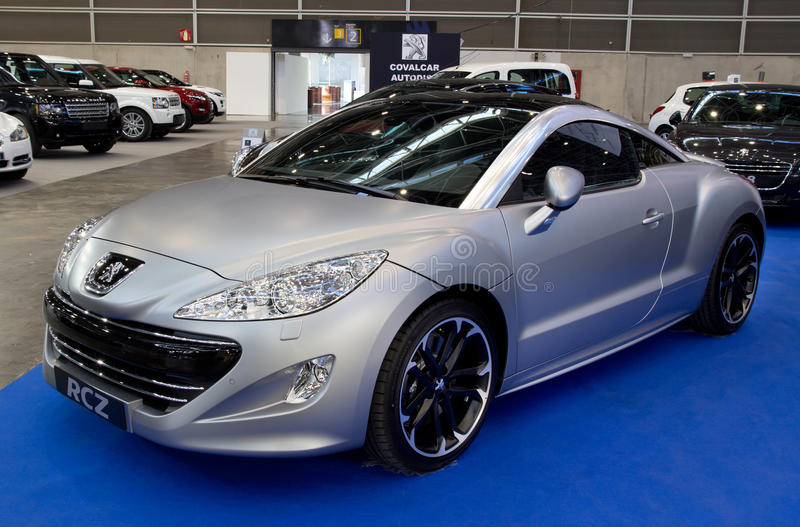 Peugeot 2011 RCZ imágenes de archivo libres de regalías
