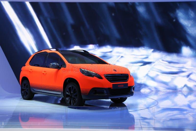 Peugeot 2008 imagen de archivo libre de regalías