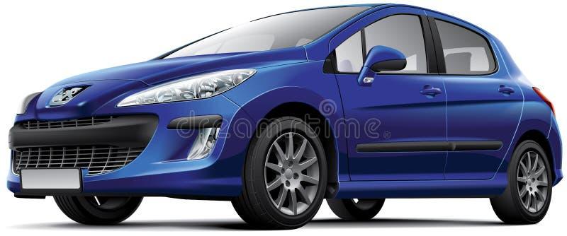 Peugeot 308 ilustracji