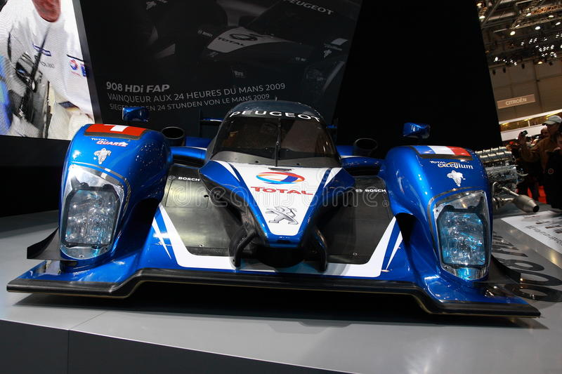 Download Peugeot 908 HDI Le Mans Series Editorial Stock Image - Image: 13377694