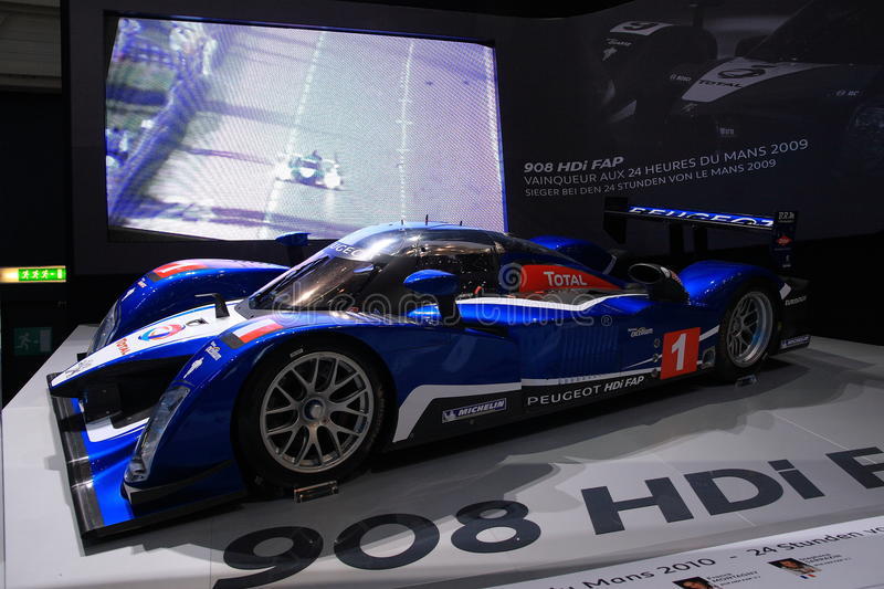 Download Peugeot 908 HDI Le Mans Series Editorial Stock Photo - Image: 15883478