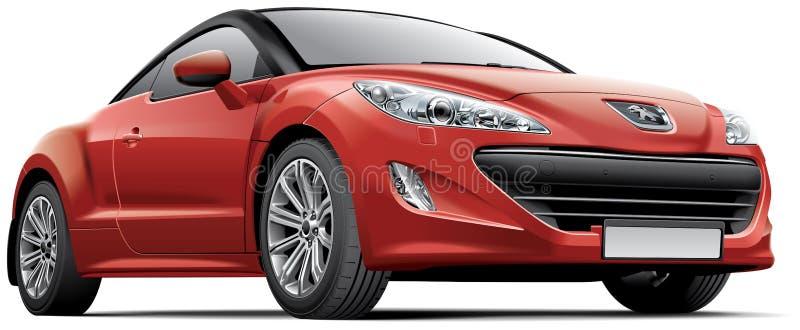 Peugeot CRZ illustration libre de droits