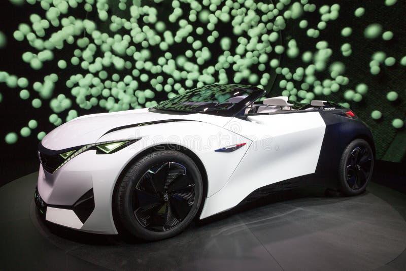 Peugeot Fractal Concept royalty free stock image