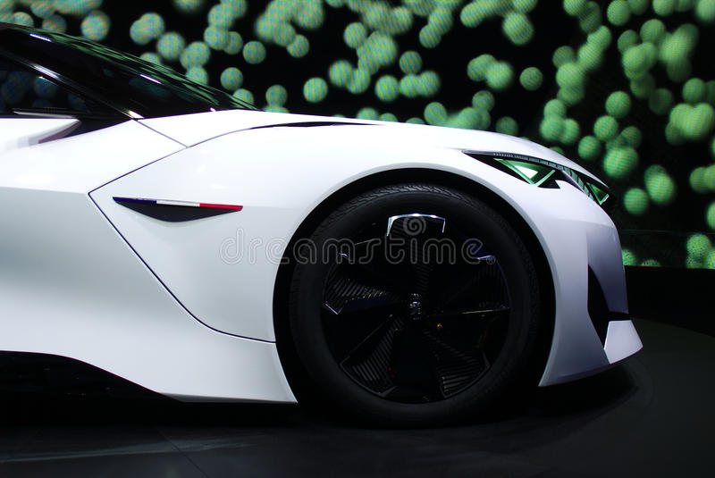 Peugeot Fractal concept at the IAA Cars stock photography