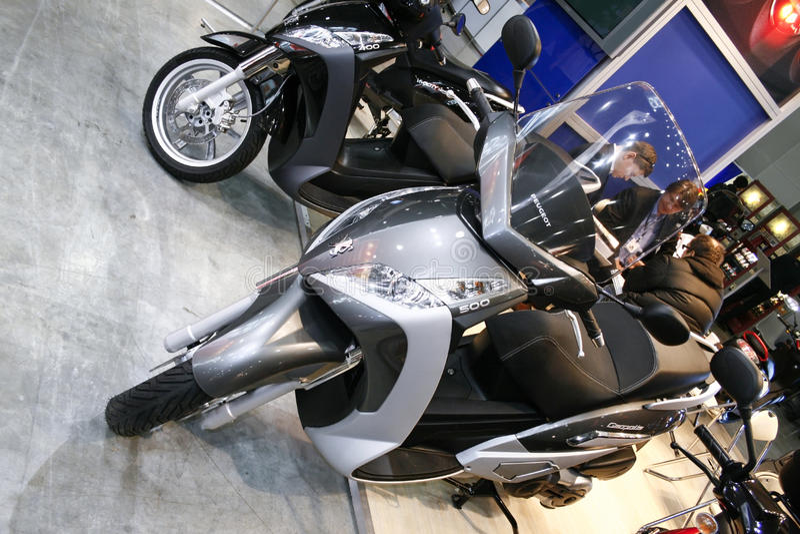 Peugeot Geopolis electric scooter motorbike