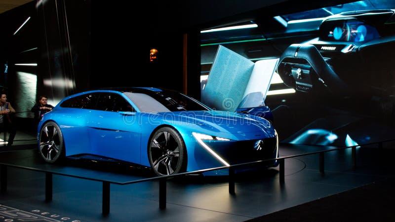 Peugeot instynkt w Genewa 2017 fotografia stock