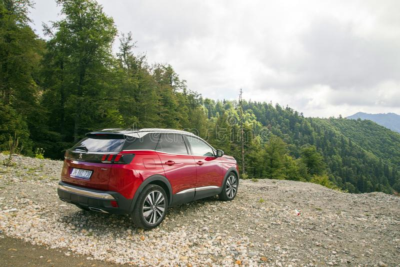 Peugeot 3008 lizenzfreie stockfotografie