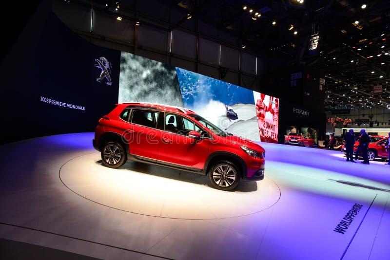 Peugeot 2008 MI-compite imagen de archivo