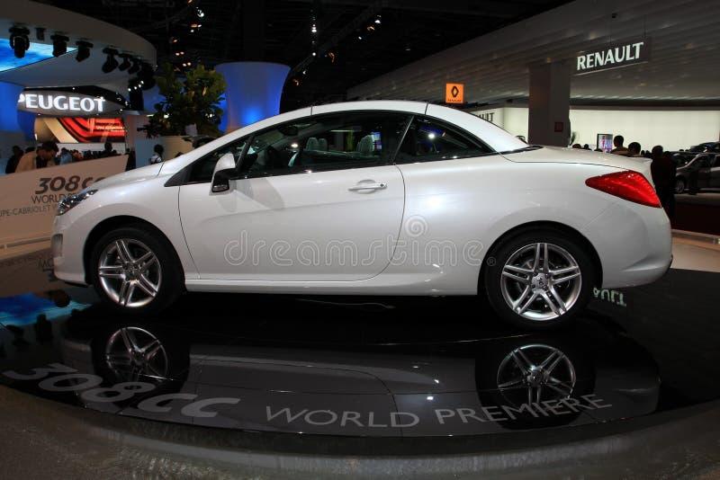 Peugeot neuf 307 cc image stock