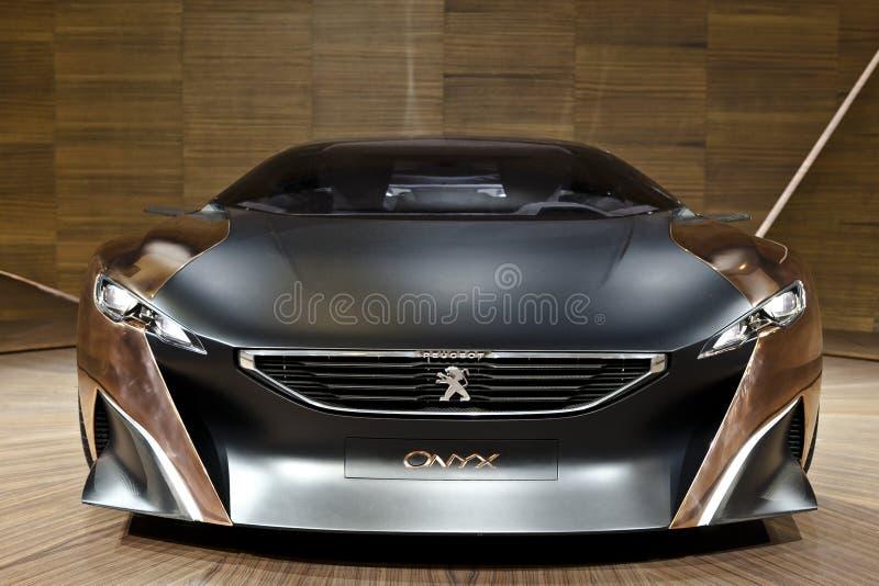 Peugeot Onyks obrazy royalty free