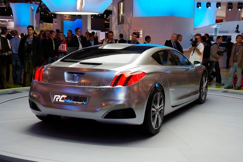 Peugeot RC? Concepto imagen de archivo