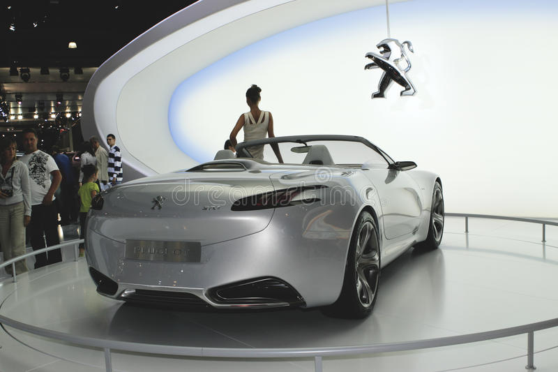 Download Peugeot Sr1 Concept Back View Editorial Photo - Image: 15898606