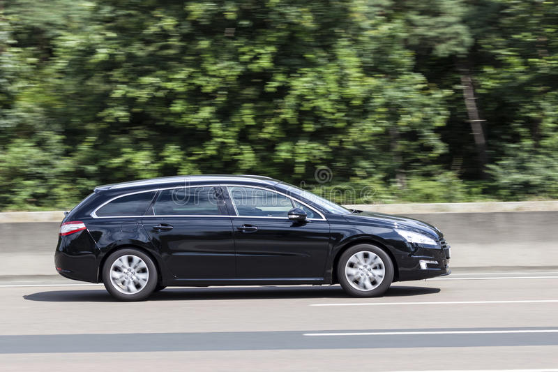 Peugeot 508 Sw Space Wagon Stock Images - Download 3 Royalty