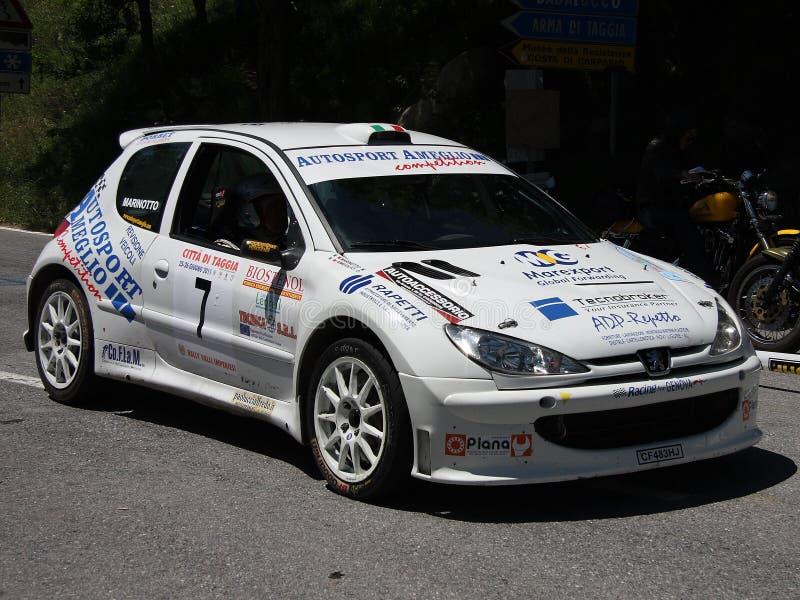 Peugeot 206 toppna 1600 samlar bilen arkivbild