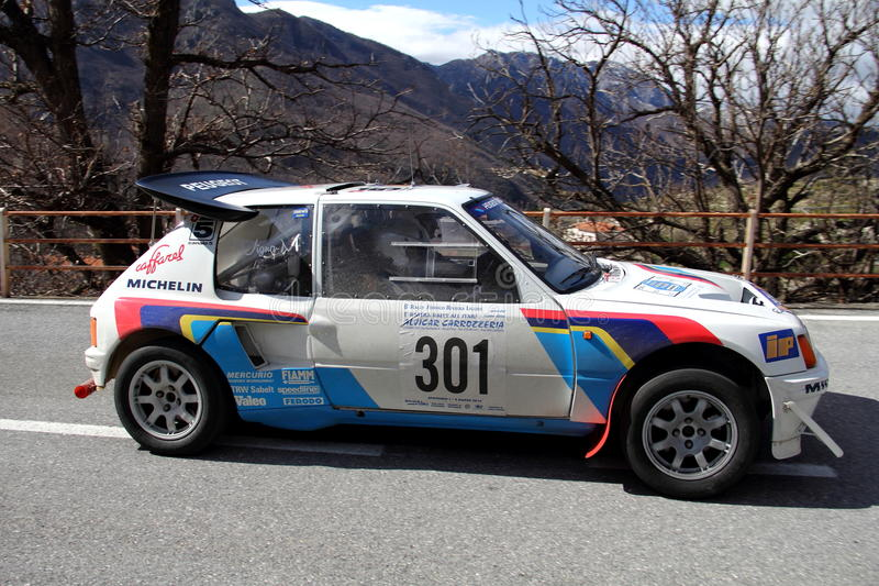 Peugeot 205 Turbo 16 foto de archivo