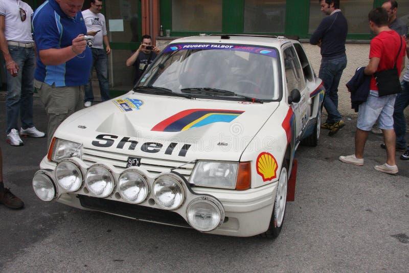 Peugeot 205 Turbo 16 fotografía de archivo