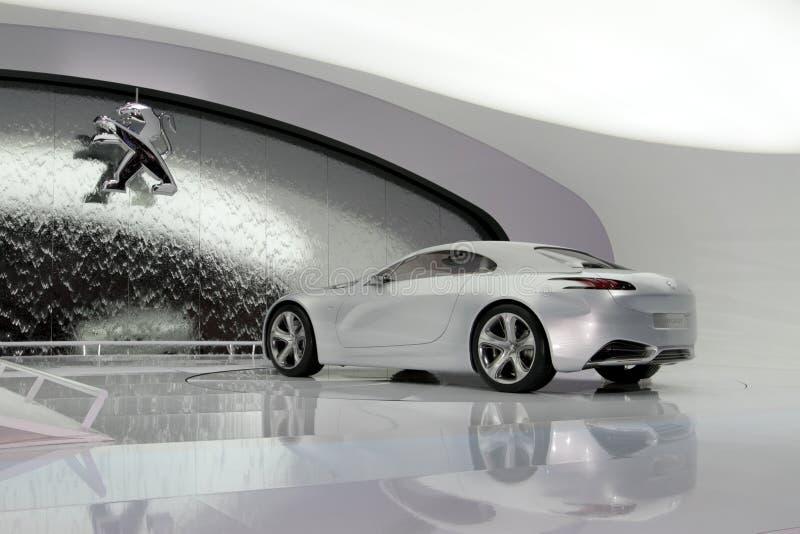 Peugeot ZWX - 2010 Geneva Motor Show stock images