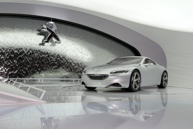 Peugeot ZWX - 2010 Geneva Motor Show royalty free stock photography