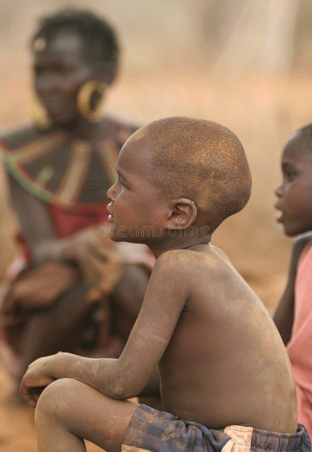 Peuple de l'Afrique photos libres de droits