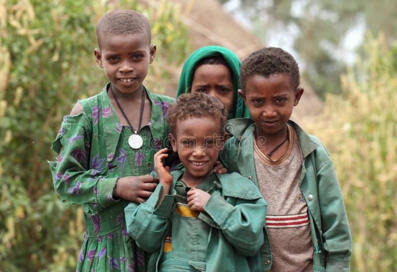 Peuple de l'Afrique photos stock