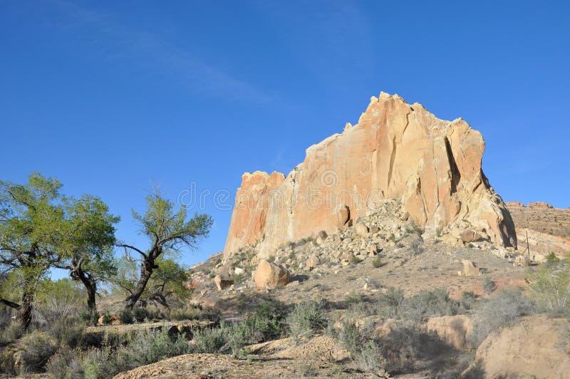 Peuplier Canyon Road en Utah photographie stock
