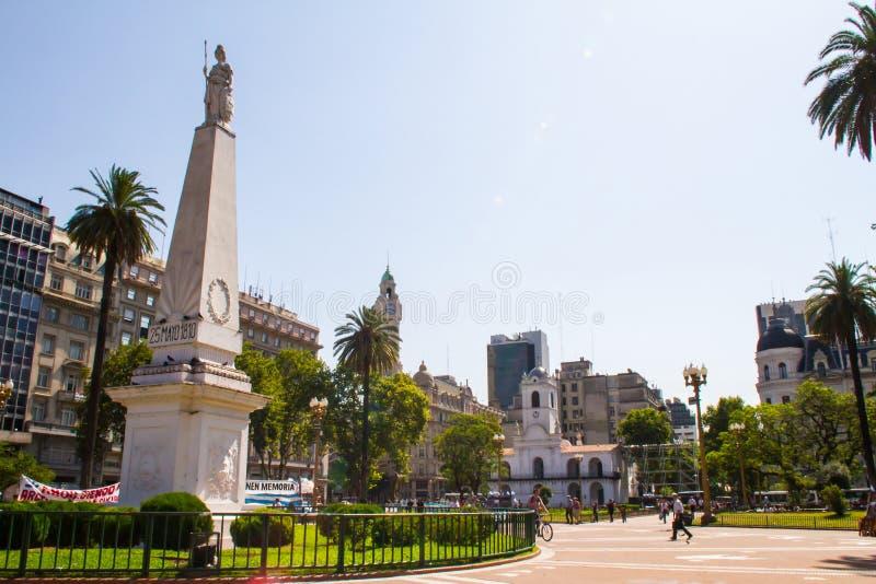 Peut ajuster Buenos Aires photographie stock libre de droits