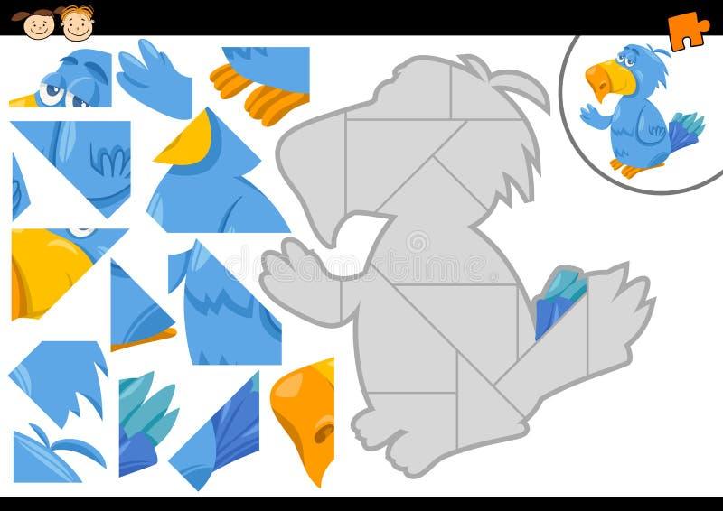 Peuterpuzzelspel vector illustratie