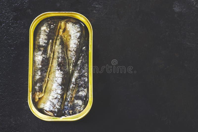 peuvent les sardines photos stock