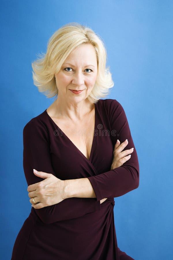 pewna kobieta jednostek gospodarczych zdjęcie stock