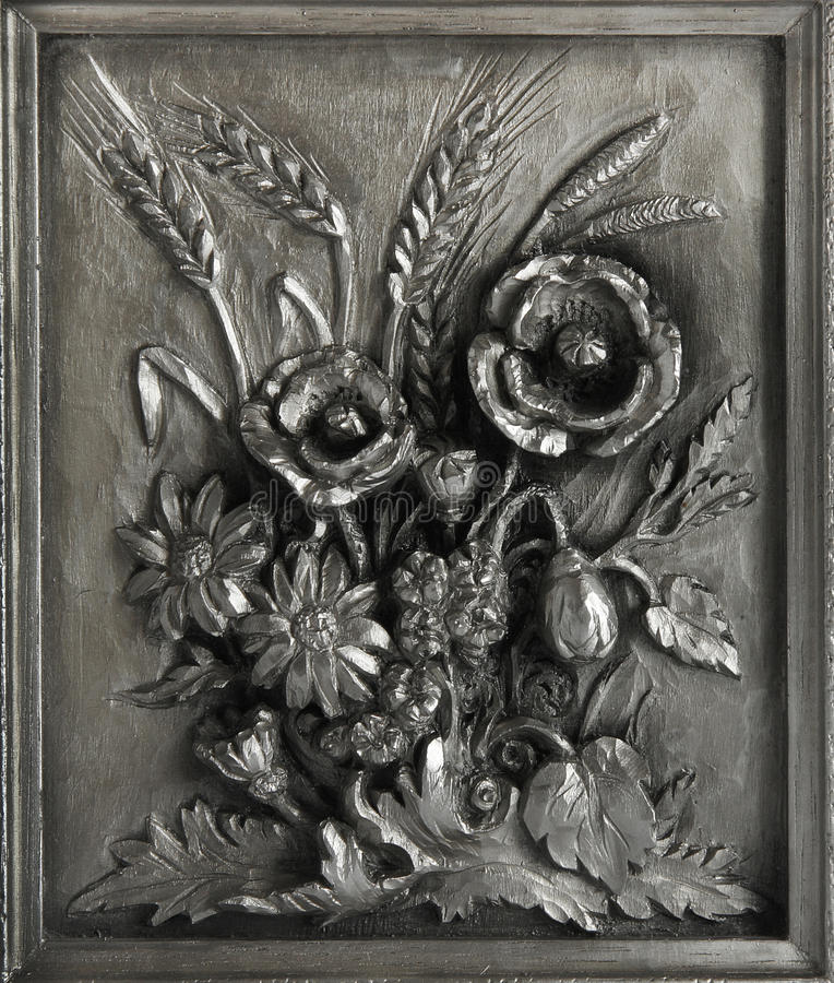 Wall Plate With The Coat Of Arms Stock Image Image Of