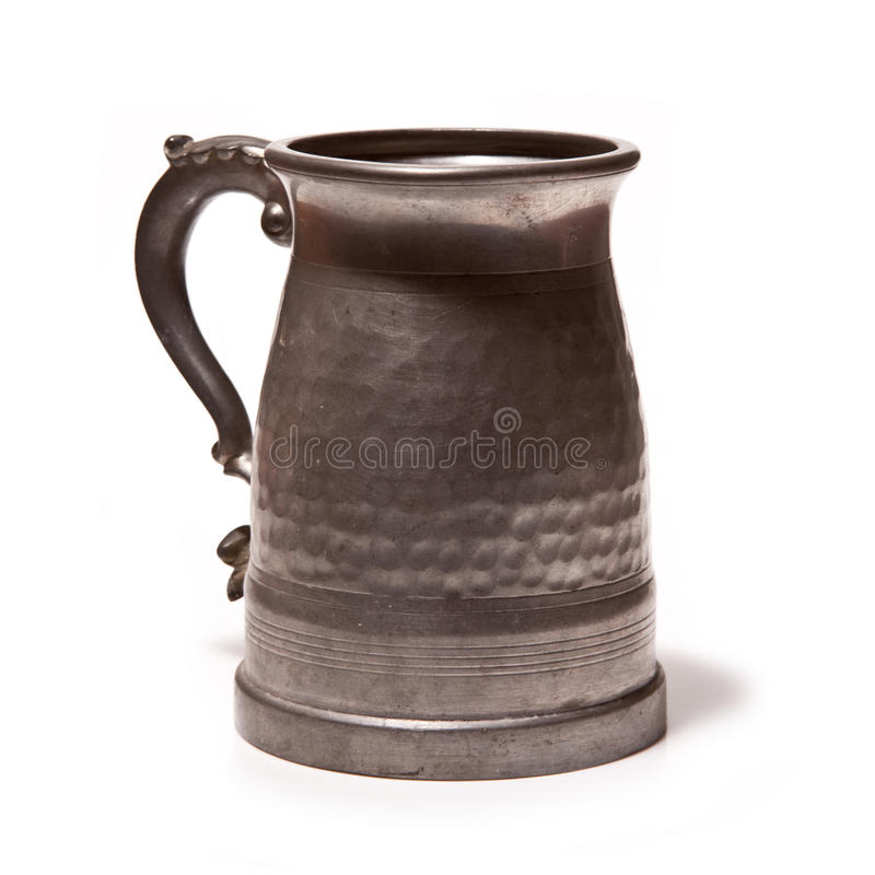 Download Pewter Beer or Ale Tankard stock photo. Image of stein - 26647872
