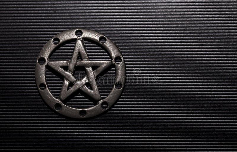 Pewter Pentacle zdjęcie royalty free