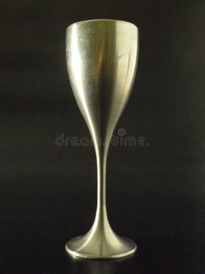 Download Pewter Wine Glass stock image. Image of silver, gleaming - 5832905