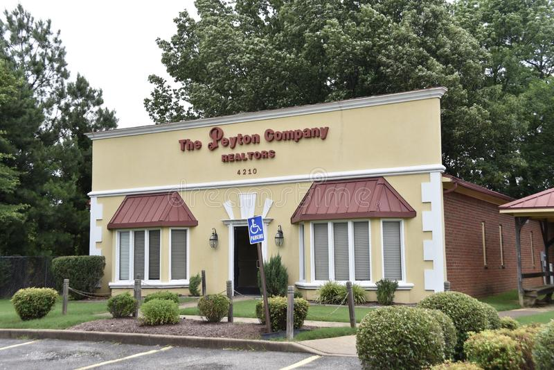 Peyton Company Realtors, Memphis, TN foto de archivo