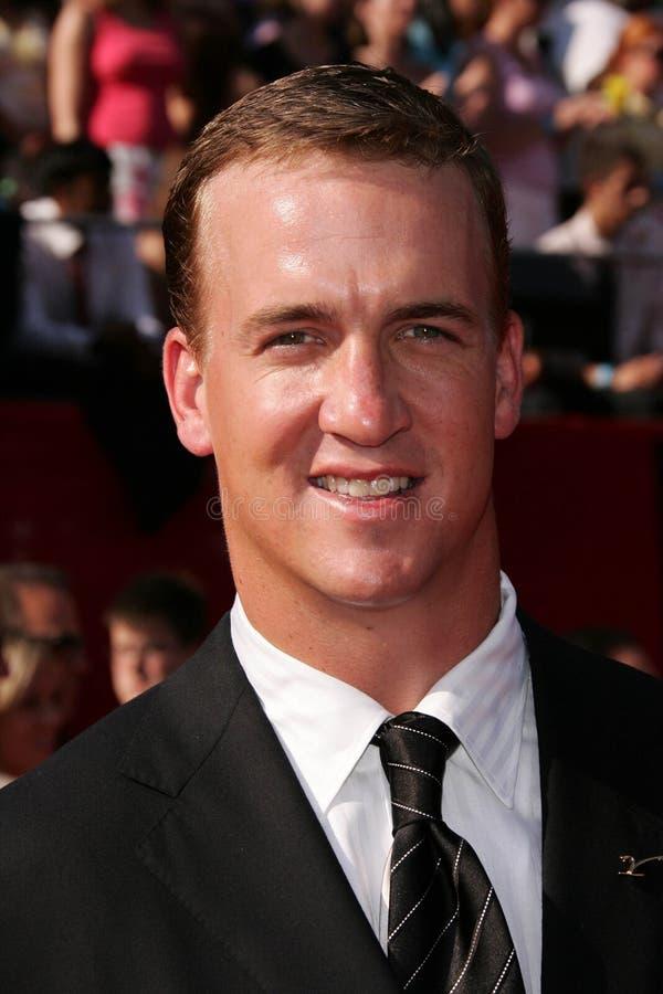 Peyton Manning fotos de archivo libres de regalías